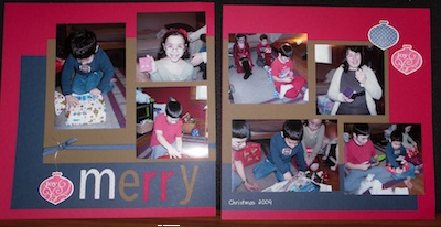 November Scrapbook Club 2009