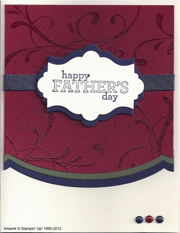 Father's Day Card 2012