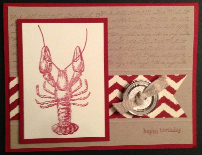 Lobster birthday