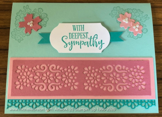 Ornate Style Sympathy Card