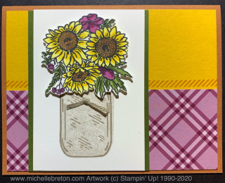 Jar of Flowers Mtm 0907