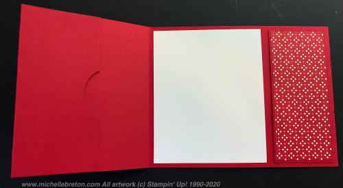 Bow Gift Card Holder Inside 1111